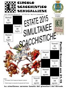 Simultanee scacchistiche 2015 a Senigallia