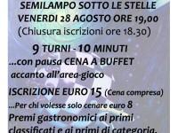 Torneo Semilampo sotto le Stelle a Pianello di Ostra